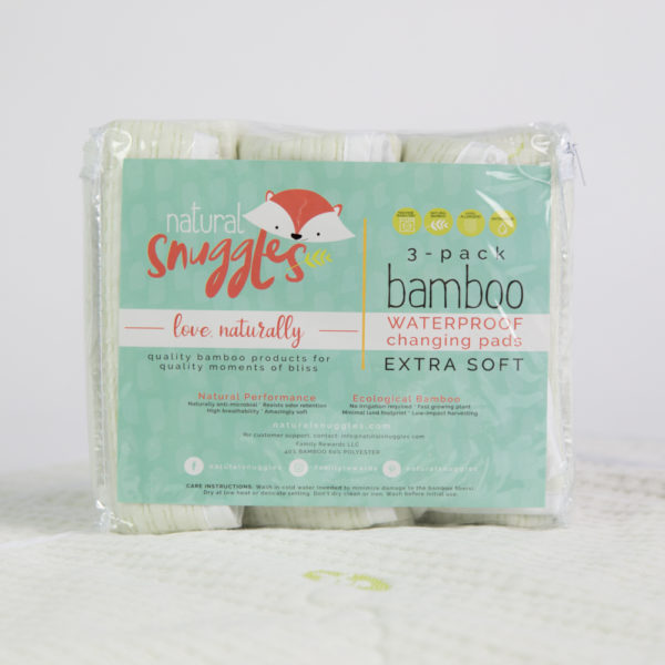 bamboo baby changing table pad