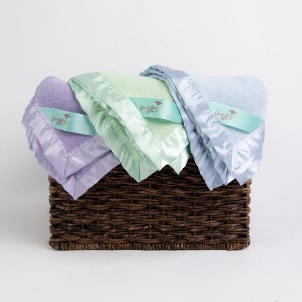 bamboo baby blanket or toddler blanket