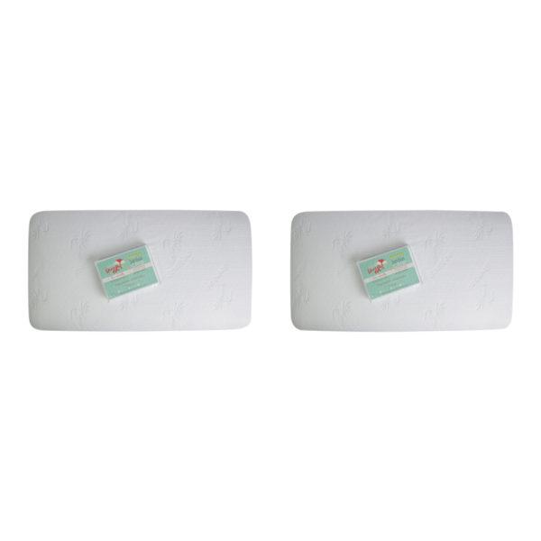 crib mattress pad two pack